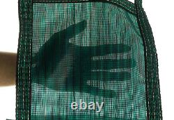 20x40 Rectangle Swimming Pool Winter Safety Cover Green Mesh 12 YR with4'x8' Step