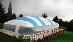 26' x 36' USA-MADE Swimming Pool Safety Cover Dome Enclosure Water Hydro Therapy