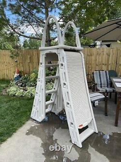 48-54 Inch Above Ground Child Safety Swimming Pool Ladder! Used Twice