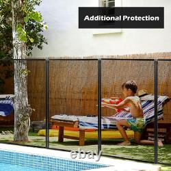 4X12 Swimming Pool Fence Garden Fence Barrier Safety 2Size Sleeves Lightweight