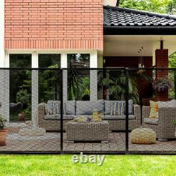 4'X48' Swimming Pool Garden Fence Child Barrier Safety With2 Size Sleeves