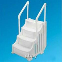 Above-Ground Swimming Pool Ladder Heavy Duty System Entry Son-Slippery Step New