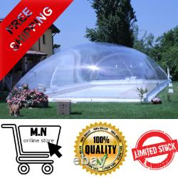 Customized Protection Cover Transparent Air Inflatable Swimming Pool Dome Safety