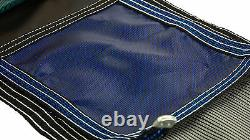 GLI 12' x 24' Rectangle BLUE MESH In-Ground Swimming Pool Safety Cover with Step