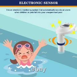 In-Ground Swimming Pool Alarm Safety System for Kid Pet Wireless Remote Receiver