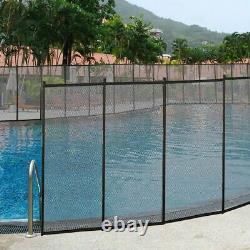 In-Ground Swimming Pool Safety Fence Section Accidental Drowning Prevent 4'x12