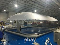 Inflatable TPU Hot Tub Swimming Pool Solar Dome Cover Tent NEW