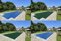 LinerWorld 18x36 MESH Winter SAFETY POOL COVER for 18'x36' INGROUND POOL