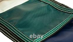 Loop Loc 7' x 7' Standard Green Mesh Round Swimming Pool Safety Cover