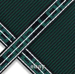 Loop Loc Green Mesh Rectangle Swimming Pool Safety Covers with Center End Step