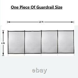 Pool fence gate for safety swimming pool 4x12ft