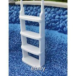 Swimming Pool Ladder Above Ground Heavy Duty Outdoor Backyard No-Slip Safety NEW