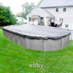 Swimming Pool Winter Covers Pool Style Above Ground Silver Pro Oval (15 YEAR)