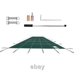 VEVOR Swimming Pool Cover 18 x 36 ft Safety Winter Pool Cover for In-Ground Pool