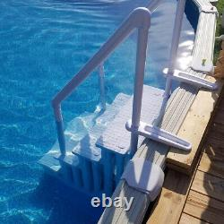 XL Step 32 Drop In Step Safety Step Swimming Pool Ladder With Handle Slip Prevent