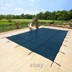 Yard Guard Deck Lock 18'x36' Inground Swimming Pool Safety Cover (Used)