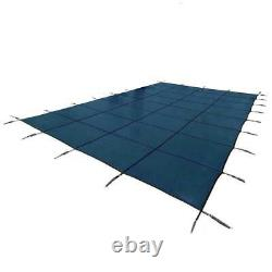 Yard Guard Deck Lock 20 x 40 Foot Rectangle Mesh Swimming Pool Safety Cover
