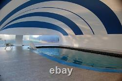 24' X 48' USA Made Swimming Pool Safety Cover Dome Enclosure Water Hydro Therapy