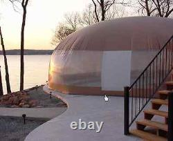 26' X 50' Usa-made Swimming Pool Safety Cover Dome Enclosure Water Hydro Therapy