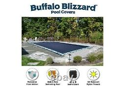 Buffalo Blizzard 30 X 50 Deluxe Rectangle Piscine Hiver Couverture 10 Yr Wty