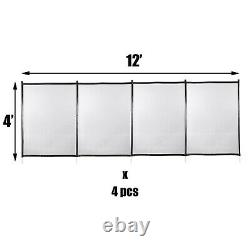Pool Fences4'x48'in-ground Pool Safety Fence Section Prévenir Les Accidents