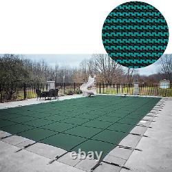 Pool Safety Cover Rectangle Inground For Winter Piscine Mesh Solid