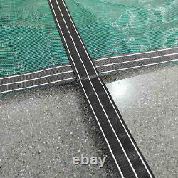 Pool Safety Green Cover Rectangle Inground For Winter Piscine 16x32ft USA